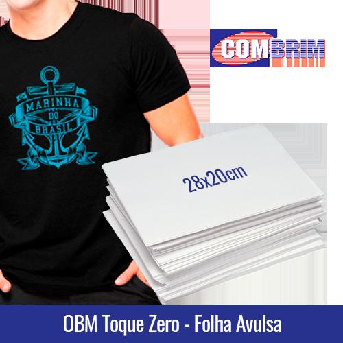 OBM TOQUE ZERO 28x20cm (FOLHA AVULSA) - Ref. 33110