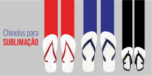 chinelos para sublimação combrim