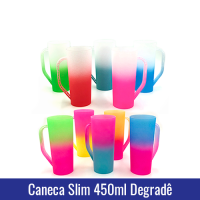 caneca-slim-degrade colorida acrilico transfer