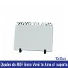 Quadro de MDF 6mm 10x15 VOVÔ TE AMO c/suporte - REF. 100955